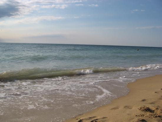 Sirena Hotel: утреннее море
