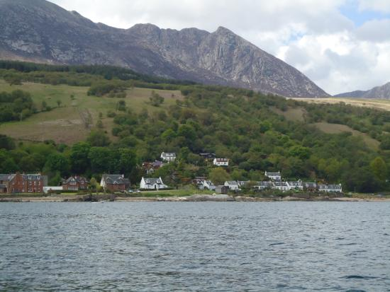 Corrie from the sea