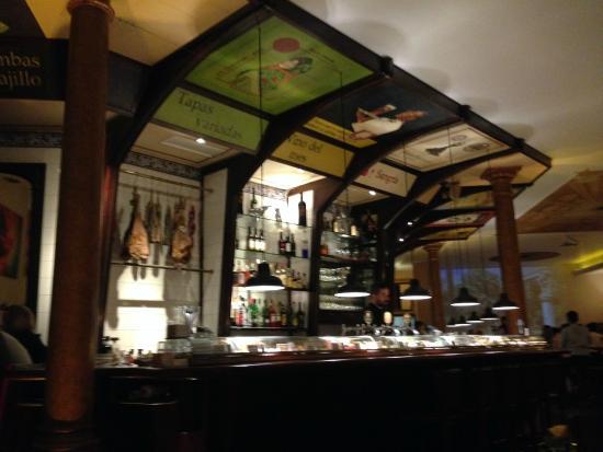 Teatro Bar Tapas: Le bar