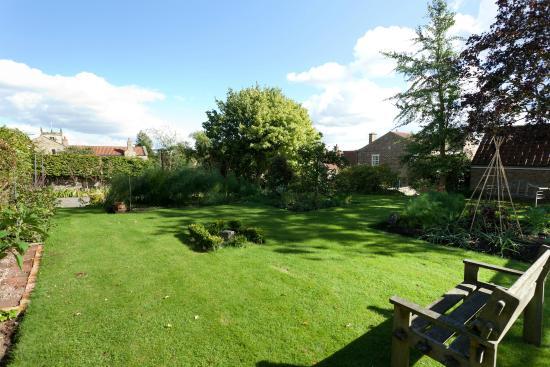 Terrington, UK: The kitchen garden lawns