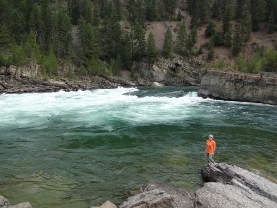 Bigfork, MT: Синяя река