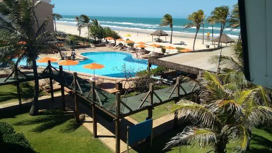 Oceani Beach Park Hotel Vista Do Quarto 3º Andar