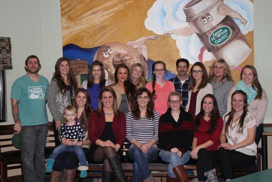 Edinboro, Pensilvania: 2014-2015 staff
