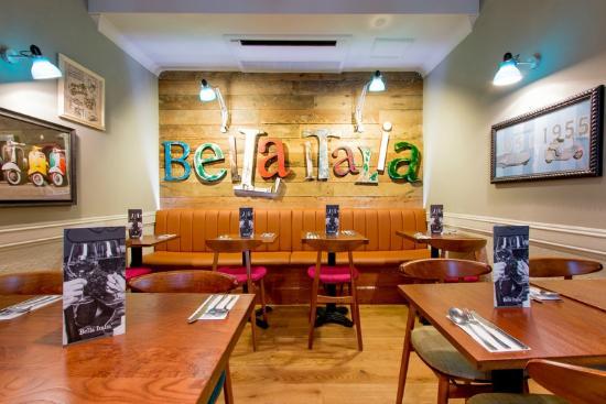 Interior - Bella Italia - London Irving Street: 1