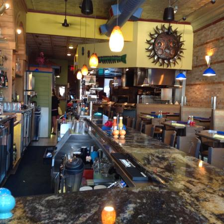 A view looking from behind the bar - Picture of San Pedro Cafe ...
