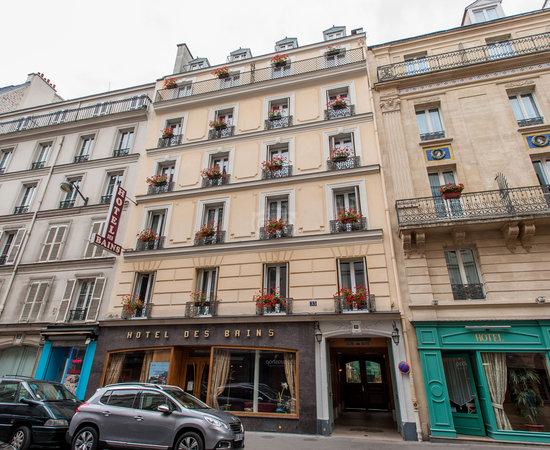 hotel des bains paris frankrike omd men och
