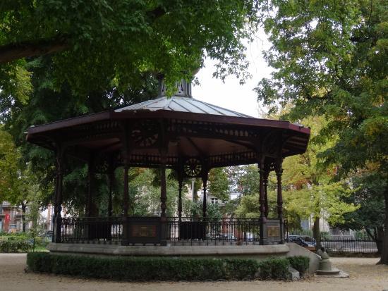 Kiosque A Musique Du Jardin Du Rocher Picture Of Restaurant Le