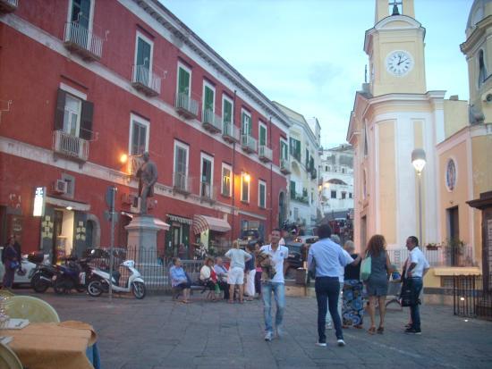 La Tonnara Hotel: At la Coricella port
