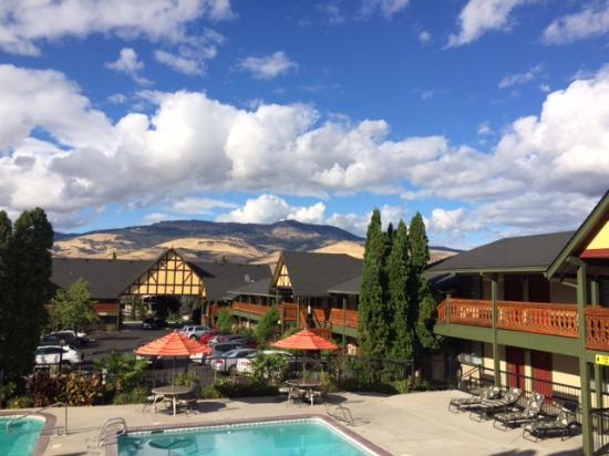 Best Western Windsor Inn View from 2nd Fl