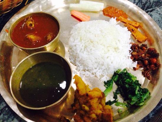 Picture of thakali kitchen kathmandu for Kitchen set in nepal