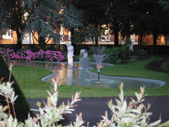 Hostellerie Saint Louis: Fontaine