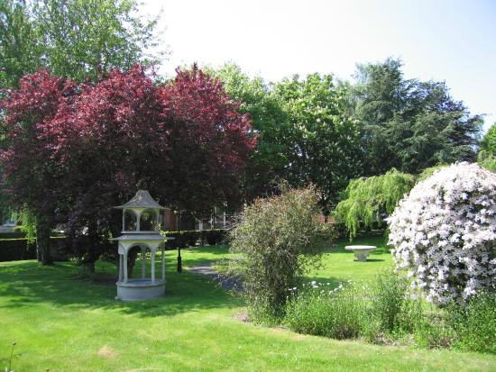 Hostellerie Saint Louis: Jardin