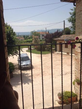 Agriturismo Il Borghetto: il nostro balconcino