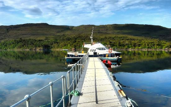 MV Seaflower, Shieldaig Pontoon