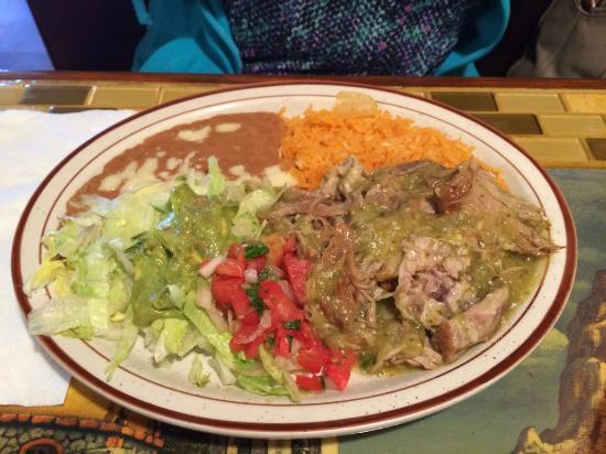 Mi Degollado: Carnitas lunch special