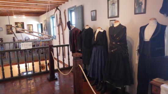 Museo Etnologico la Posada: Что носили жители Города