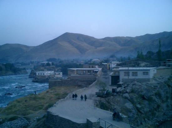 Faizabad city at dawn