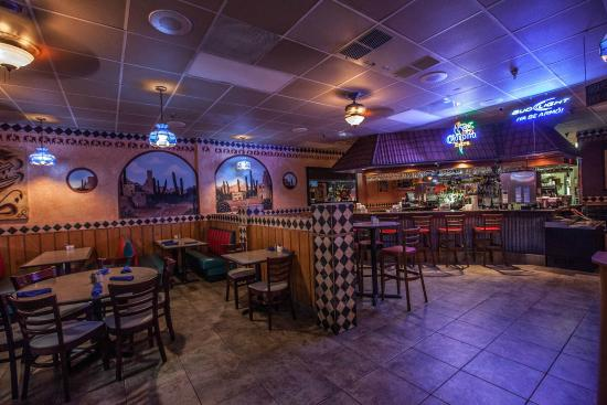 La Bamba Mexican And Spanish Restaurant Bar Area