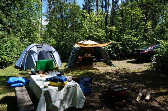 Kirkland Lake, Canadá: Notre site de camping