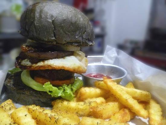 Photo of Restaurant Black House Burgers at Jl. Patimura Blok 4 No. 1, Kuta 80361, Indonesia