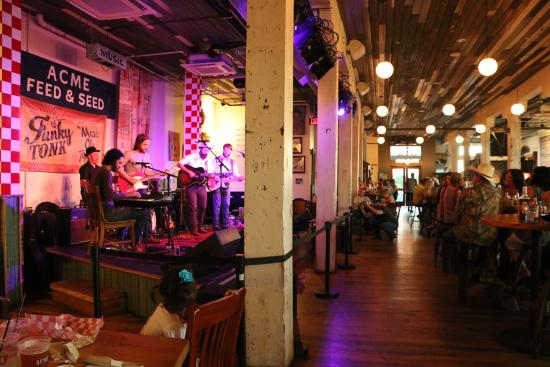 Live Music And Good Food In A Really Cool Venue Picture Of