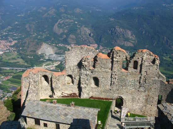 Monastery - Picture of Sacra di San Michele, Sant\'Ambrogio di Torino ...