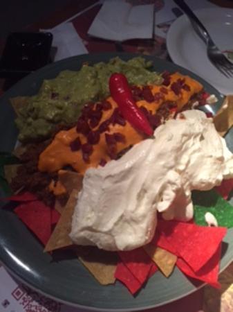 El Burrito - Restaurante Mexicano : nachos deliciosos
