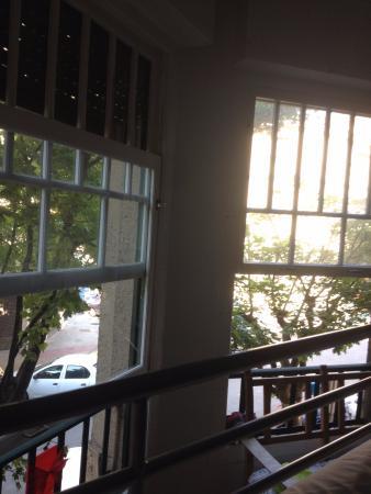 Aloha Hostel: Vista dalla camera