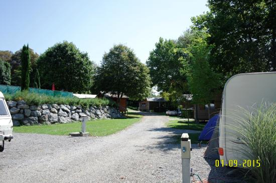 Camping Beau Rivage : Campsite