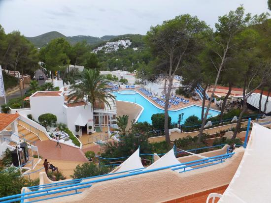Globales Montemar Apartments : View from A8