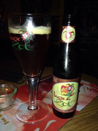 Belgian Beer Pub Don Quichotte: Bruge beer davvero molto buona!