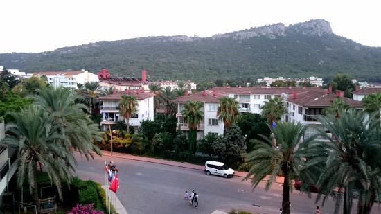 Palmet Turkiz Hotel: Вид из номера