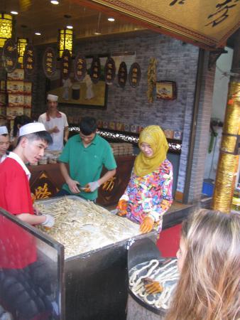 Huayin, China: in giro per la città