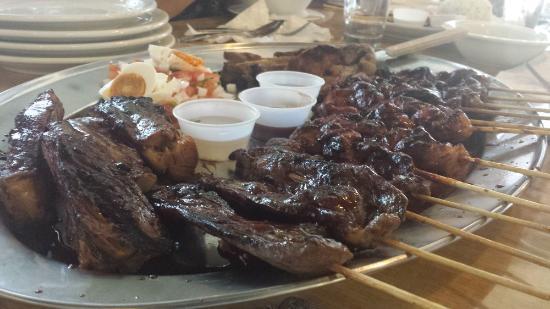Salo-Salo grill: grill platter