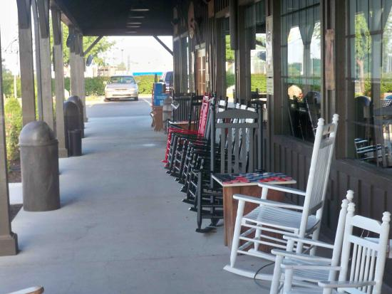 Front Porch Entrance Picture Of Cracker Barrel Fort Wayne Tripadvisor The term cracker barrel front porch was first used in 1916.and it originated from the country stores of the era. cracker barrel fort wayne tripadvisor