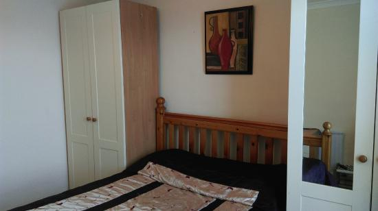 Llanfor, UK: Double room