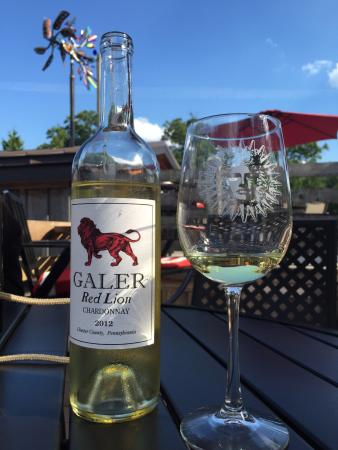 Galer Estate Vineyard and Winery: Red Lion Chardonnay