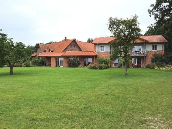 Landhaus Averbeck: Außenansicht Appartementhaus
