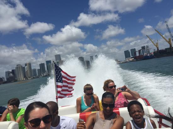 Thriller Boat Tour Miami Fl