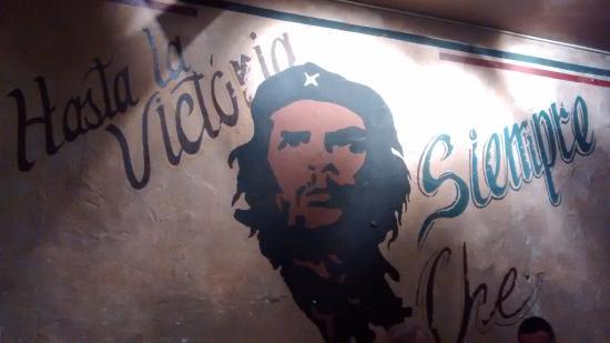 Grand QBA : Mural del Che Guevara, en QBA