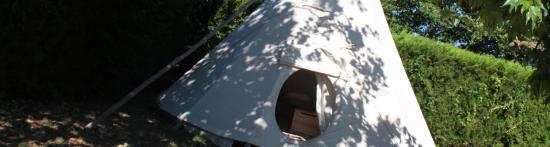 Camping Airotel La Sorguette : Tipi