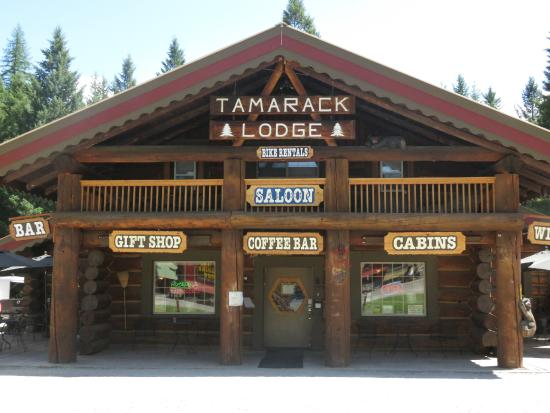 Historic Tamarack Lodge: Our 100 year old lodge provides lodge room accommodation on the upper floor.