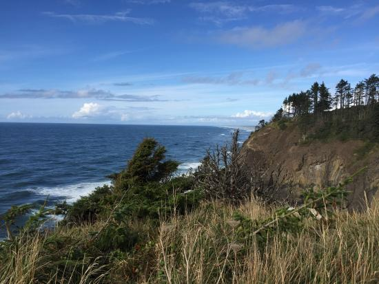 Ilwaco, WA: Beautiful view from the lighthouse grounds.