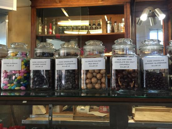 Inside St Louis Crown Candy Kitchen