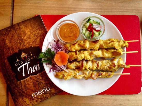 Just Eat Ordering Old Town Thai Swindon Traveller Reviews