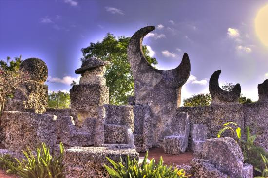 Homestead, Floride : Coral Castle
