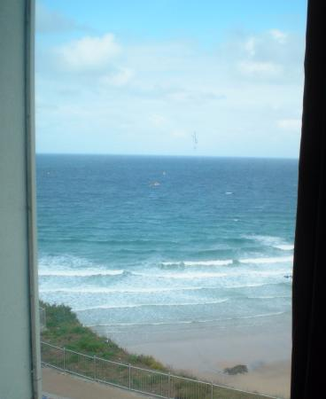 Travelodge Newquay Seafront Hotel: View from our 2nd floor room