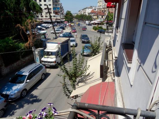 Jolly Hotel: Ausblick Balkon rechts