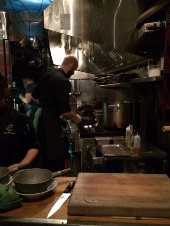 Bin 941 Tapas Parlour: The Bin kitchen