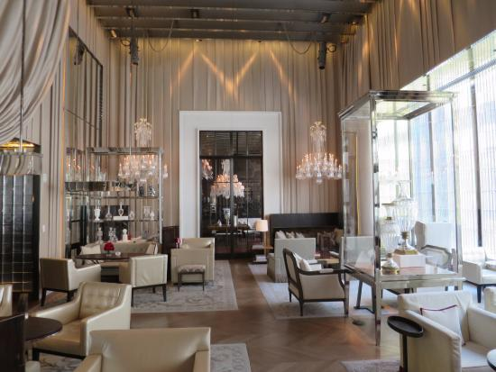 Grand salon picture of baccarat hotel residences new - Baccarat hotel new york ...